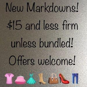 New Markdowns!!!!
